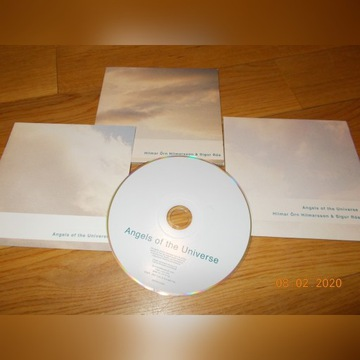 SIGUR ROS 'ANGELS OF THE UNIVERSE' CD