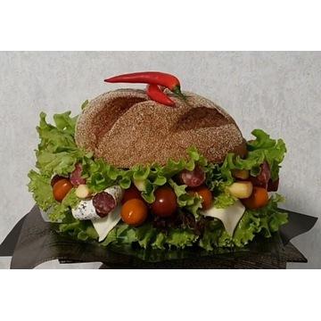 Bukiet Burger. Prezent na Dzień Taty. Dzień Ojca