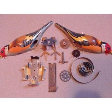 zabawka mechaniczny , nakręcany ptak