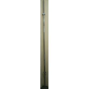 Gryf prosty gwintowany 180cm 28mm+zaciski 85 zł