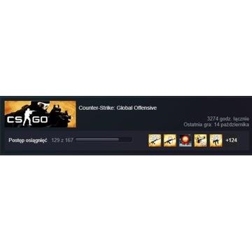 Konto Steam  CS:GO 1000h+ RANGA/ PRIME / SKINY