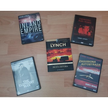 DAVID LYNCH twin peaks / the elephant man / inland