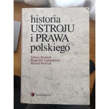 Historia ustroju i prawa polskiego. Bardach