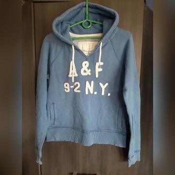 A&F bluza damska/młodzieżowa,rozm M,niebieska