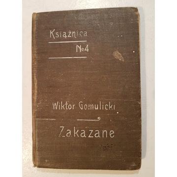 ZAKAZANE WIKTOR GOMULICKI 1906