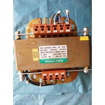 Transformator separacyjny sterowniczy 400/230/24.
