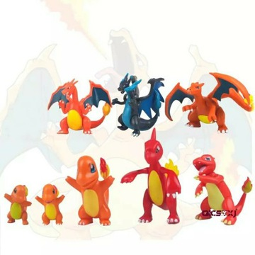 Figurki Pokemon zestaw 8 sztuk