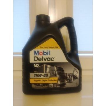 Olej Mobil Delvac MX 15w40 4 L