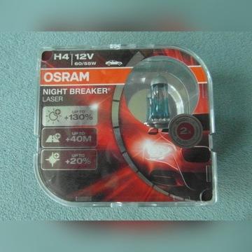 Żarówki OSRAM Night Breaker Laser H4 12V