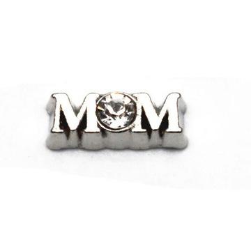 """CHARMS """"mom"""" z kamieniem - dzień matki"""