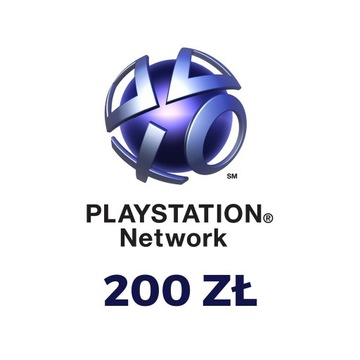 PlayStation Network 200 zł PSN PS4 KOD