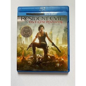 Resident Evil: Ostatni rozdział Blu-ray