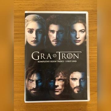 Gra o Tron Sezon 3 DVD PL