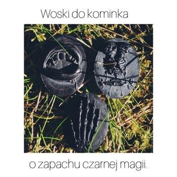 Woski do kominka killstar 6 szt. czarne
