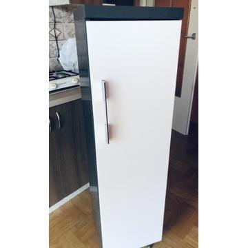 Szafka łazienkowa słupek, biały lakierowany front