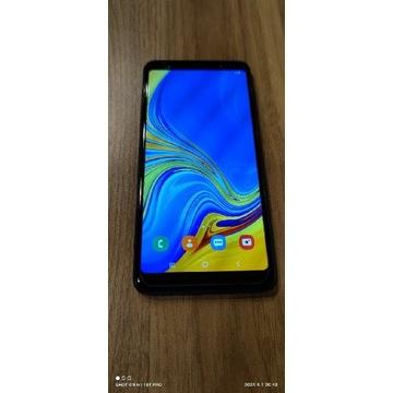 Samsung Galaxy A7 2018 blue w świetnym stanie