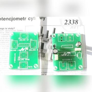 Cyfrowy potencjometr AVT-2338