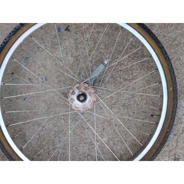 Koło rowerowe 26 cali aluminiowe z hamulcem bebnow