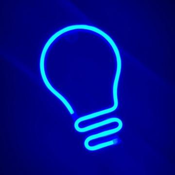 Neon LED Żarówka, super prezent, lampka dla dzieci