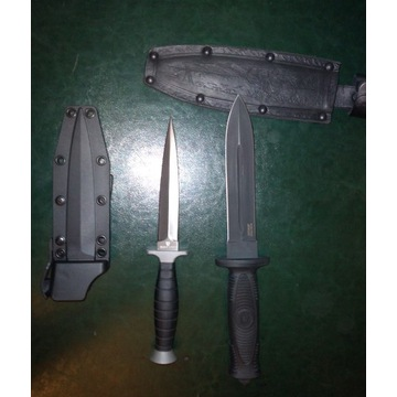 Dwa noze- kizlyar ko kombat oraz Browning Black La