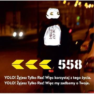 YOLO Plecak odblaskowy