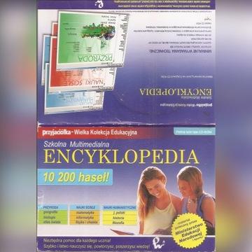 szkolna encyklopedia multimedialna 6CD + 3 CD