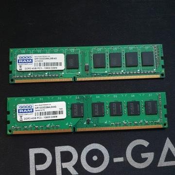 GoodRam 2x4 GB DDR3- 1333 Dual