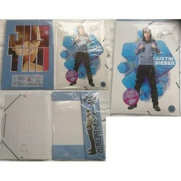Justin Bieber teczka A4 grająca piosenkę muzyka cd