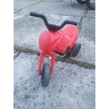 Jeździk motor trójkołowy