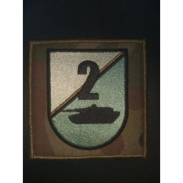 2 batalion czołgów 1 brygady naszywka oznaka