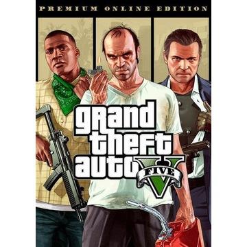 GTA 5 Premium Edition + Gratisy Automat 24/7