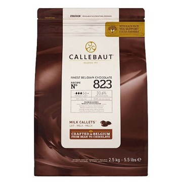 Callebaut Mleczna czekolada 823 - 2,5 kg