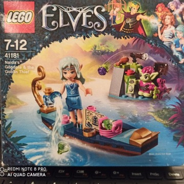 LEGO Elves Gondola Naidy