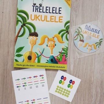 Trelelele Ukulele Książka do nauki gry na ukulele