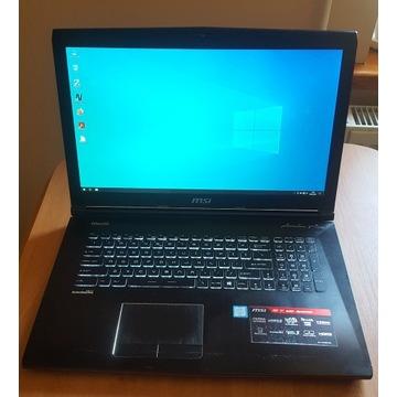 MSI GE72 6QC Apache I7 960M 128GB SSD  1TB HDD 8GB