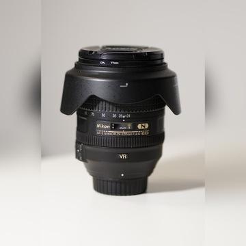 Obiektyw AF-S Nikon NIKKOR 24-120 1:4 G ED