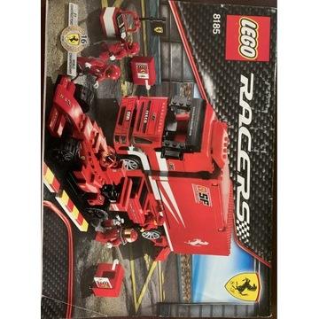 Lego Racers Ferrari Truck 8185 Świetny Stan!