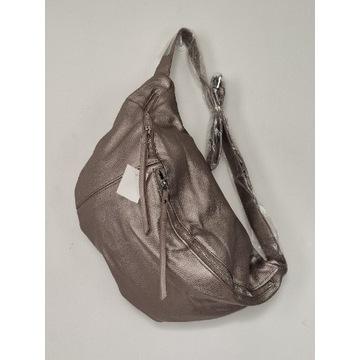 Nowa duża torebka torba nerka eko-skóra
