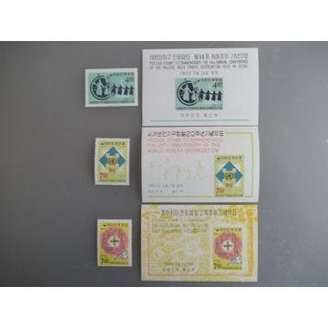 Korea Pd konferencja 1965, 68 blok x 3 +znaczek