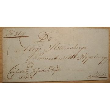 List przedznaczkowy 1811 r.