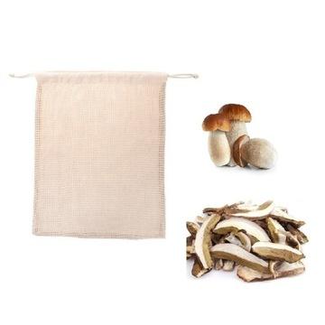 Bawełniana torba na grzyby