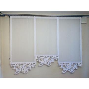 Panel - dekoracja okienna Ażury - Liść