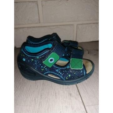 Sandałki befado skórzana wkładka r. 21