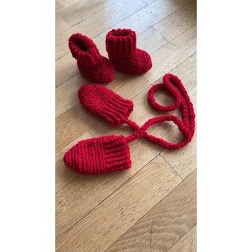 Handmade rękawiczki niedrapki