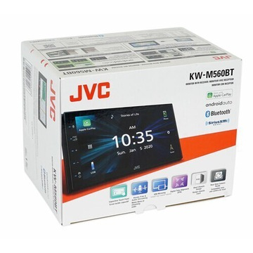 NOWY JVC KW-M560BT 2DIN androidAuto