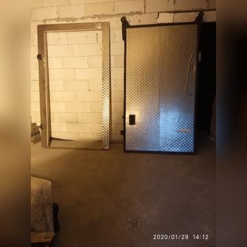 Drzwi  do  chłodni  przesuwne