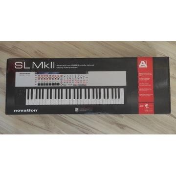 NOVATION  61SL MkII Mk2 KLAWIATURA MIDI USB