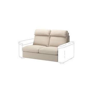 IKEA LIDHULT Pokrycie sekcji sofy 2-os rozkład BEŻ