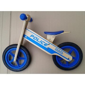 Rowerek Biegowy Drewniany FLIMBOO POLICE
