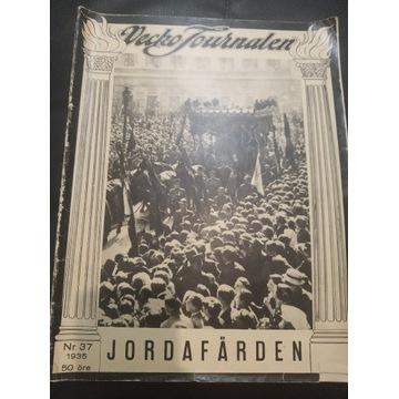 Magazyn Szwecja 1935 liczne zdjęcia